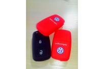 Силиконовый чехол на ключ Volkswagen Tiguan, jetta, polo, golf 2 кнопки