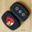 """Силиконовый чехол на ключ Hyundai solaris i30 ix35 tucson 2016 akcent santaFe """"Angry Birds"""""""