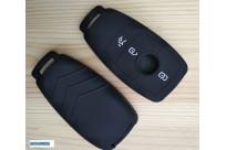 Силиконовый чехол на ключ Mercedes-Benz E200 E250 E300 E400 E500 E550 E63 2016-2017  W213 E200L E300L