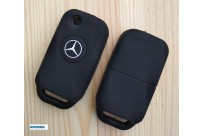 Силиконовый чехол на ключ Mercedes-Benz s e SL ML (1 кнопка)