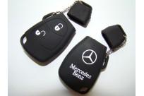Силиконовый чехол на ключ Mercedes-Benz W203 W211 CLK C180 E200 AMG C E Vito (старый ключ 2 кнопки)