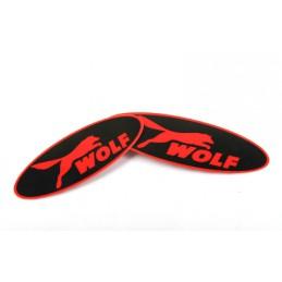 Декоративная наклейка на эмблему WOLF