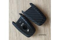 Силиконовый чехол на ключ карбон BMW M1 M2 M3 F10 F20 F30 F05 335 328 535 650 740