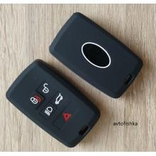 Силиконовый чехол на ключ Land Rover Discovers 4 5 Range Rover Evoque freelander 2 Velar для Jaguar