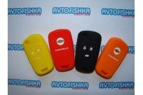 Силиконовый чехол Chevrolet 3 кнопки