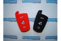 Силиконовый чехол на ключ BMW (смарт) 2 кнопки