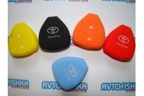 Силиконовый чехол Toyota -Camry,Avalon,Corolla,RAV4,Venza ( 2 кнопки)