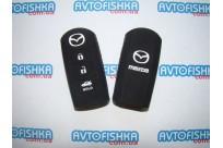 Силиконовый чехол на ключ Mazda M2/M3/M6/CX-5/CX-7 (смарт) 3 кнопки