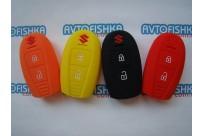 Силиконовый чехол Suzuki Grand Vitara,Swift, SX4  2 кнопки NEW