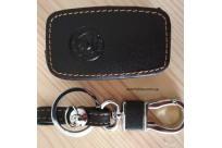Кожаный чехол на ключ для  SKODA