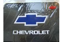 Не скользящий коврик под телефон с логотипом Chevrolet